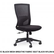 Optic-Black-Mesh-Breathe-Fabric-Seat-Black-Nylon-Base