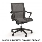 Scroll-Black-Mesh-Black-Nylon-Base