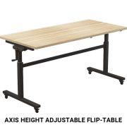 Axis Height adjustable Flip-Table