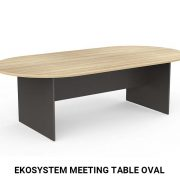EkoSystem Meeting Table oval