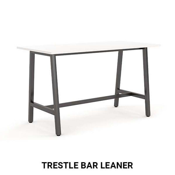 Trestle bar leaner